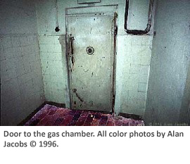 Door to the gas chamber